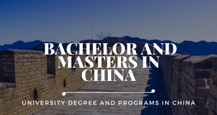 University Degree in China: Bachelor and Masters in China