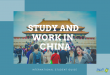 Study and work in China in 2020