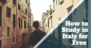 Study in Italy for free