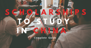 Scholarships to Study in China in 2020
