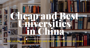 Cheap and Best Universities in China