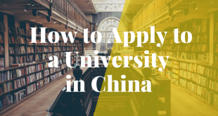 How to Apply to a University in China in 2020