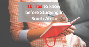 studying in South Africa