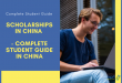 Scholarships in China: Requirement & application process